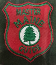 Master Maine Guide Patch